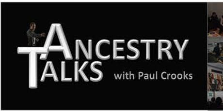 Ancestry Talks  tickets