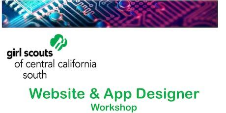 Website & App Designer Workshop  tickets