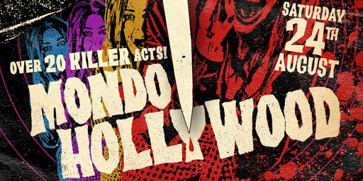 Mondo Hollywood feat Man...or Astroman?, L.A. Witch, Bloodshot Bill and more