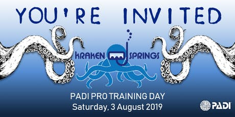 PADI Pro Training Day @ Kraken Springs tickets