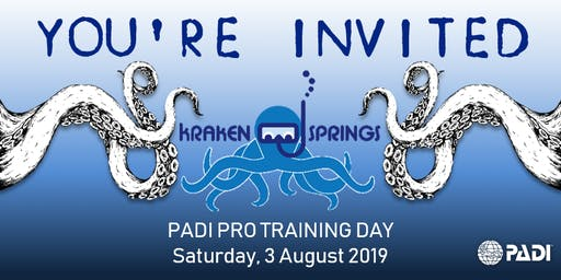 PADI Pro Training Day @ Kraken Springs