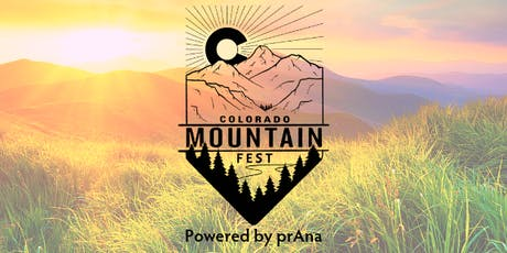 Colorado Mountain Fest tickets