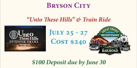 Bryson City Trip tickets