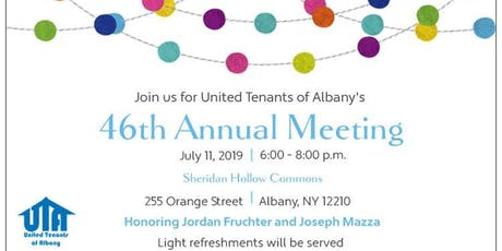 United Tenants of Albany's 46th Annual Meeting tickets