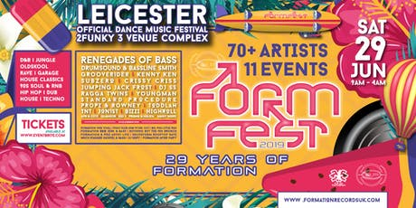 FormFest  29 years of Formation  tickets