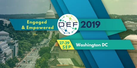 DEF2019: Engaged & Empowered tickets