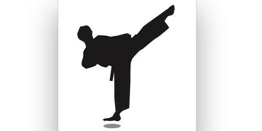 Taekwondo training with Olympic Champion, Dongmin Cha