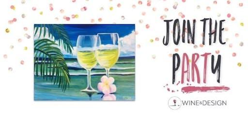 Sip + Paint | White Wine Romance