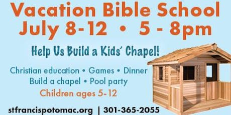 Vacation Bible School at St. Francis Episcopal Church in Potomac tickets
