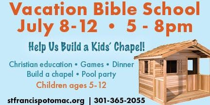 Vacation Bible School at St. Francis Episcopal Church in Potomac