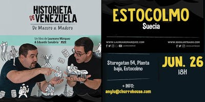 Conversatorio Historieta de Venezuela en Estocolmo