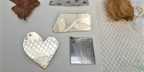 Pewter brooch making workshop. tickets