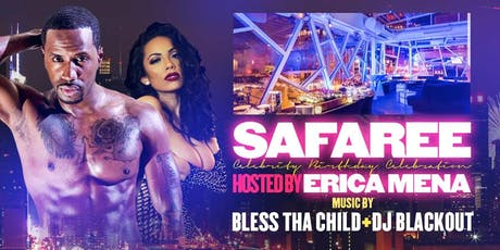 Safaree Celebrity Birthday Party Hosted by Erica Mena @ 760 Rooftop tickets