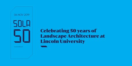 School of Landscape Architecture's 50th Anniversary tickets