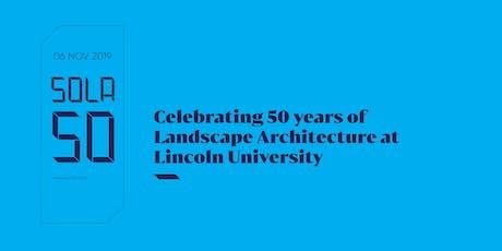 School of Landscape Architecture's 50th Anniversary tickets