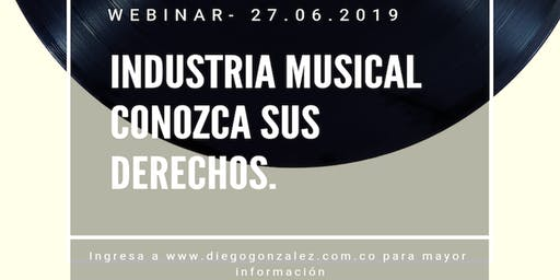Evento Online - Industria Musical Conozca sus Derechos