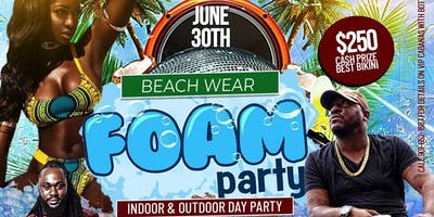 Beach Wear Foam Party