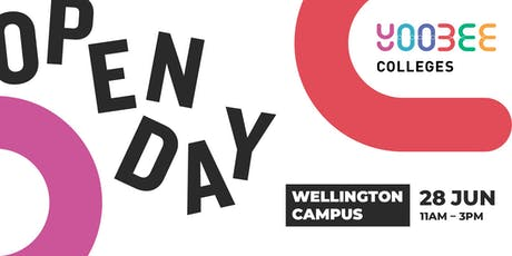 OPEN DAY | Yoobee Colleges - Wellington Campus tickets