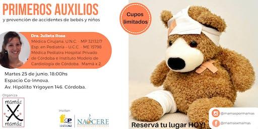Primeros Auxilios y Prevención de Accidentes de Bebés y Niños