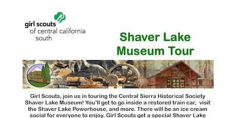 Shaver Lake Museum Tour - Fresno  tickets