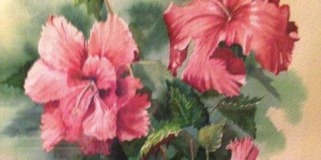 6 Week Summer Watercolor Painting Class - Thursday Mornings tickets