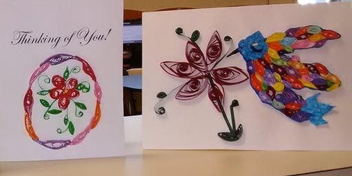 Paper Quilling at the Library
