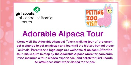 Adorable Alpaca Tour - Kern