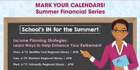 Summer Financial Series tickets