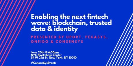 Enabling the next fintech wave: blockchain, trusted data & identity tickets