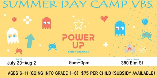 Power Up! Summer Day Camp VBS 2019 at St. Thomas Salvation Army
