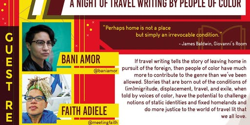 Irrevocable Conditions: A Night of Travel Writing by BIPOC