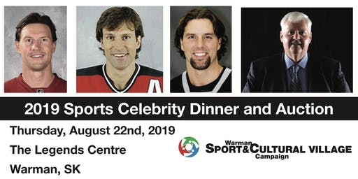 WSCV Sports Celebrity Dinner and Auction