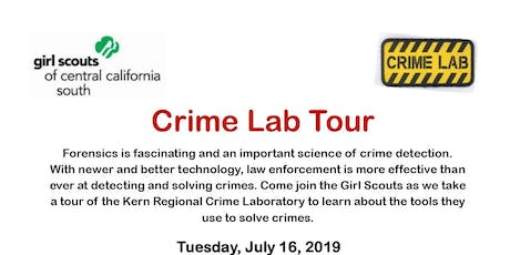 Crime Lab Tour - Kern  tickets