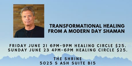 Transformational Healing Circle with Bart Smyth Healer and Shaman tickets