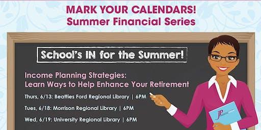 Summer Financial Series