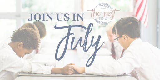 Join Us in July