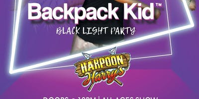 TEEN GLOW PARTY FEATURING BACK PACK KID:  ALL AGES EVENT