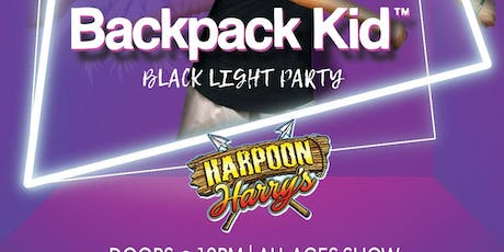 TEEN GLOW PARTY FEATURING BACK PACK KID:  ALL AGES EVENT tickets