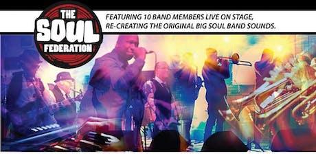 Soul Federation - Big Soul Sound (10 Piece Band) tickets
