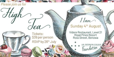 High Tea A.B. Paterson College Foundation tickets