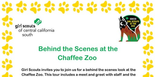 Behind the Scenes at the Chaffee Zoo - Fresno