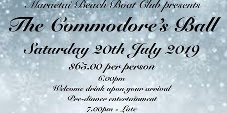 The Commodore's Ball tickets