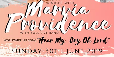 Marvia Providence Live in Nottingham  tickets