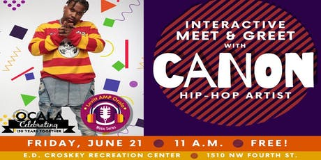 Interactive Meet and Greet with Canon tickets