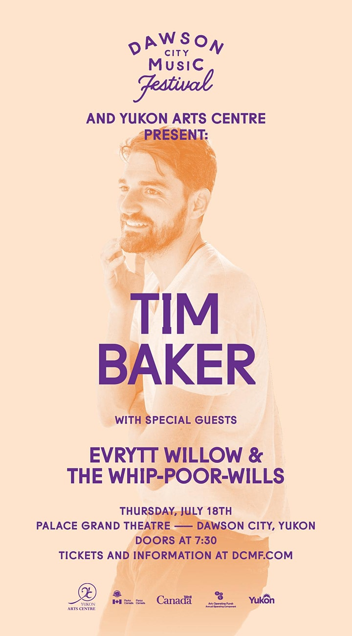 Tim Baker (of Hey Rosetta!) with Evrytt Willow & the Whip-Poor-Wills image