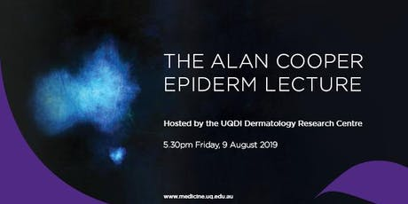 2019 Alan Cooper Epiderm Lecture  tickets