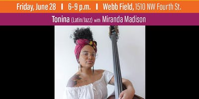 Tonina with Miranda Madison at Levitt AMP Ocala