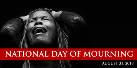 National Day of Mourning tickets