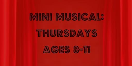 Mini Musical Thursday (Ages 8-11)