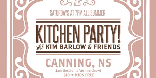 Canning Kitchen Party